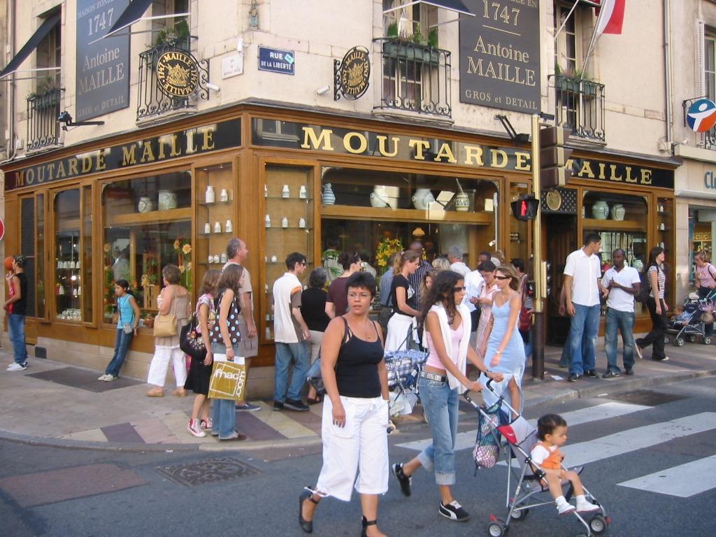 image de la moutarde de Dijon