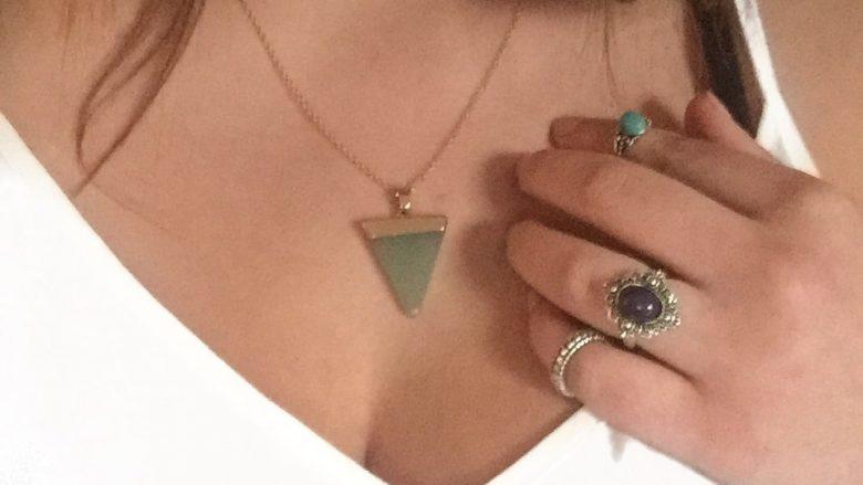collier et pendentif de bijoux fantaisie